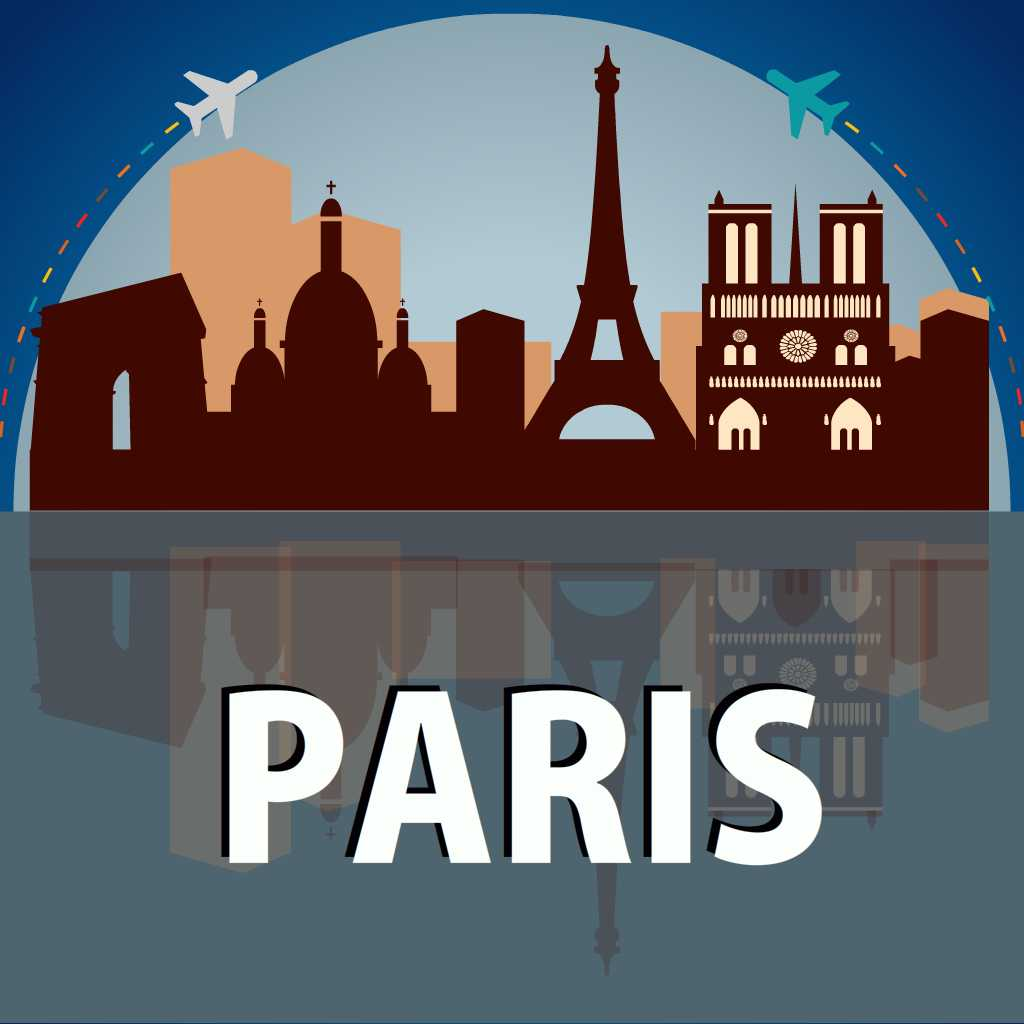 paris travel guide offline map by velugu kasirao. Black Bedroom Furniture Sets. Home Design Ideas